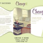 ChangeIt | Home Staging | Redesign | Brochure