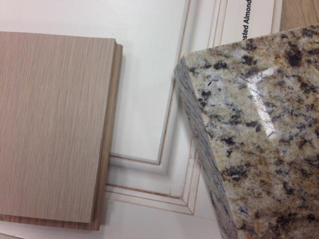 Granite and wood selection