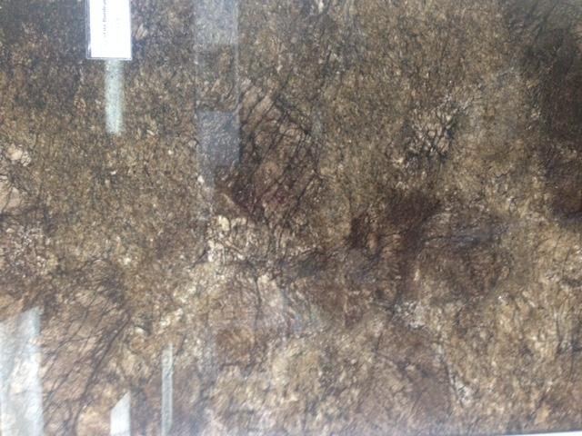 Granite countertop closeup