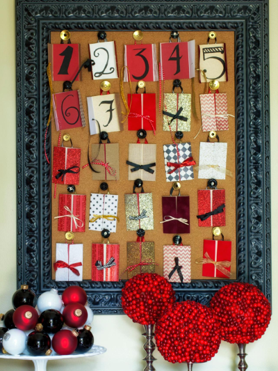 Homemade Christmas Frames