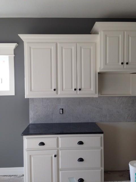 Kitchen progress in new construction