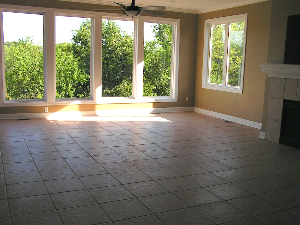 Staging a Vacant Home - Before Picture