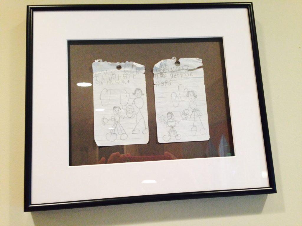 Framed Child's Art