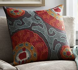 fall pillow pottery barn colors