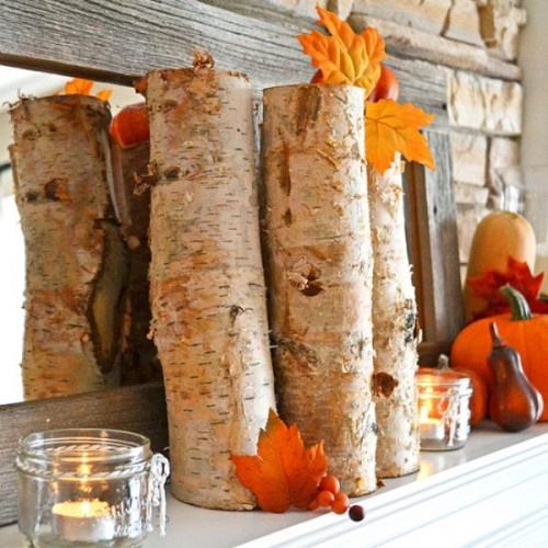 Change It Fall Decor Without Country Vintage Or