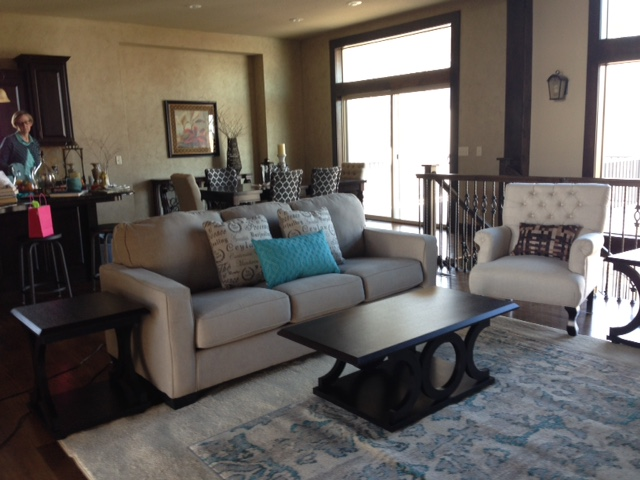 Vacant home staged by Changeit Redesign